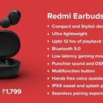 redmi earbuds s ufficiali specifiche prezzo