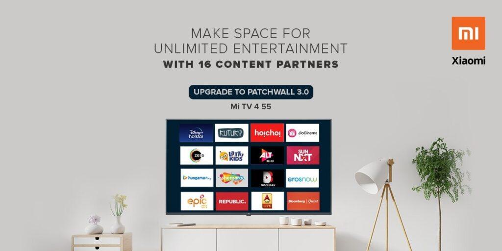 samsung q950ts 8k qled tv xiaomi patchwall 3.0 mi tv 4 ufficiale specifiche prezzo