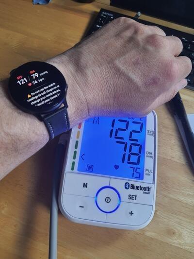 Ecco come misurare la pressione sanguigna con Samsung Galaxy Watch Active 2 1