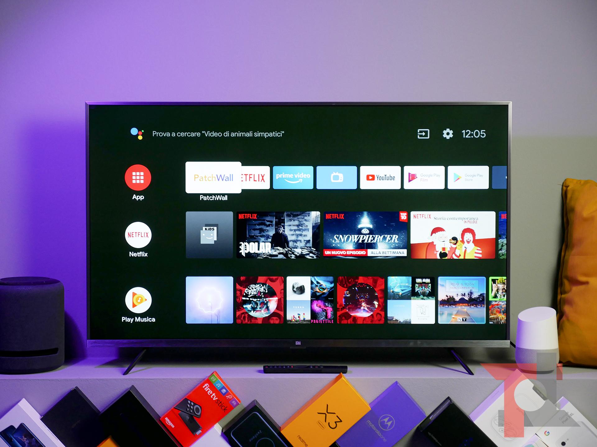 Abbiamo provato la Xiaomi Mi TV 4S da 43'' con Android TV: non sottovalutatela 3