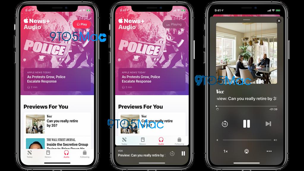 Apple News+ Audio
