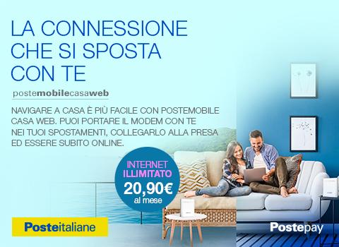 PosteMobile Casa Web