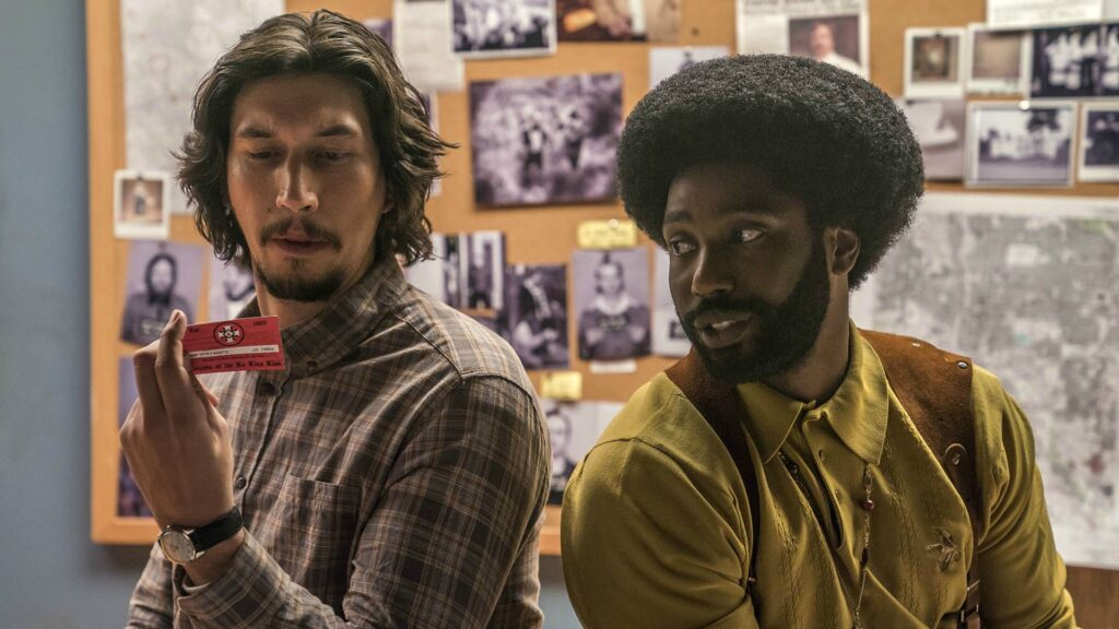 BlacKkKlansman - migliori film Amazon Prime Video