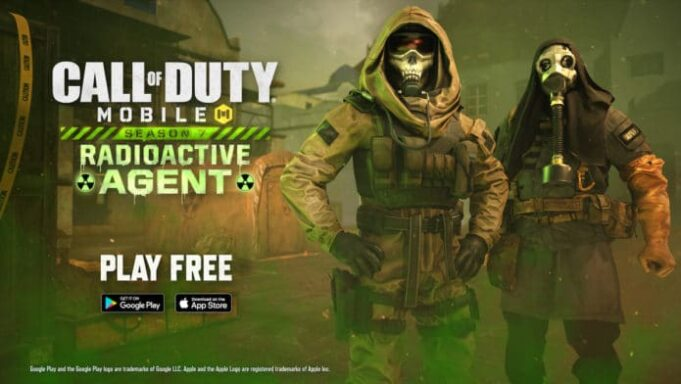 Call of Duty mobile agente radioattivo