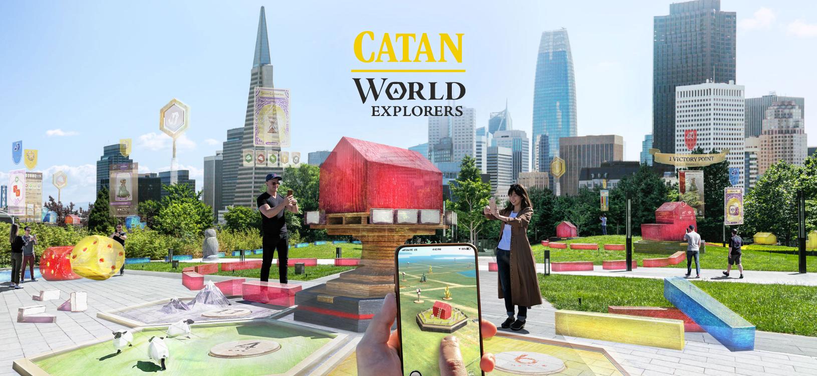Niantic annuncia Catan: World Explorers, il quarto gioco AR
