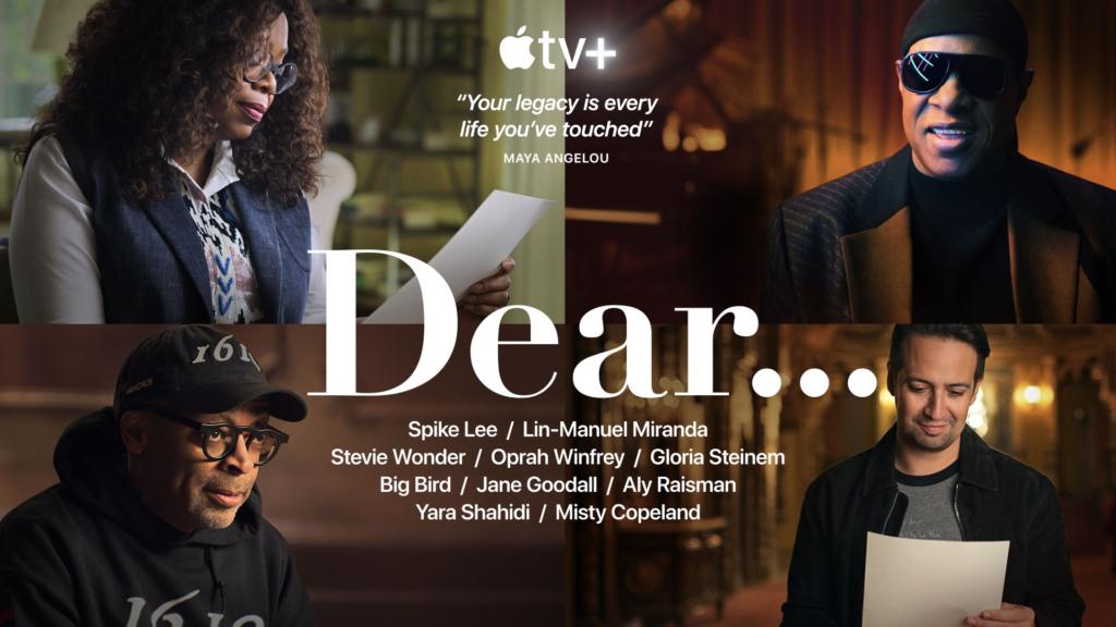 Dear... - novità Apple TV+ giugno 2020