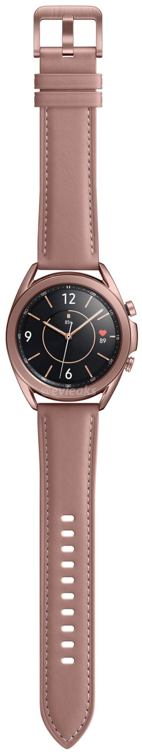 Le immagini stampa svelano Samsung Galaxy Watch 3 in tutta la sua gloria 1
