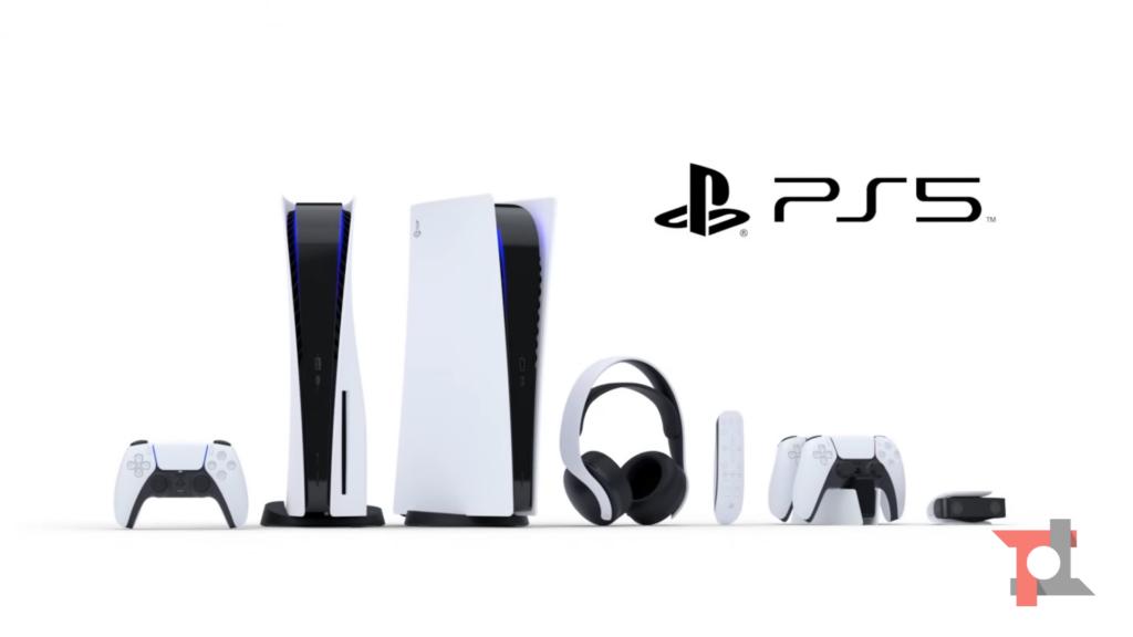 PS5 e accessori