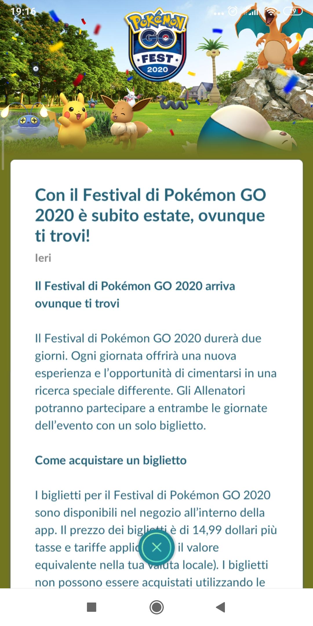 Il Pokémon GO Fest 2020 sta per arrivare: ecco tutti i dettagli 1