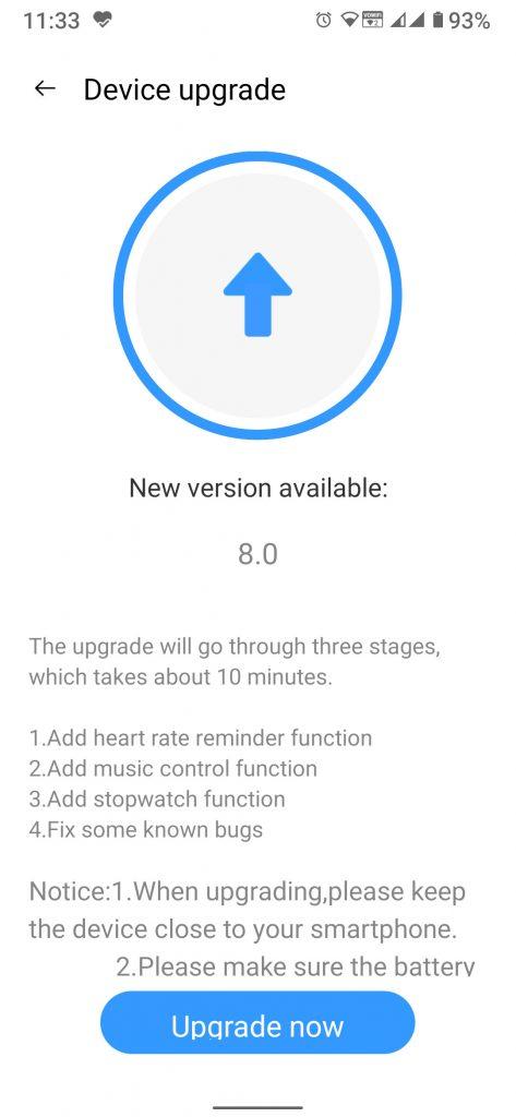 Realme Band ottiene importanti funzionalità con l'ultimo update 1