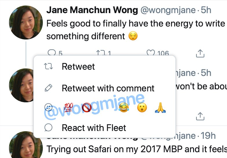 Twitter potrebbe aggiungere le reazioni tramite emoji nei tweet 1