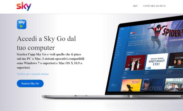 Sky Go Mac PC