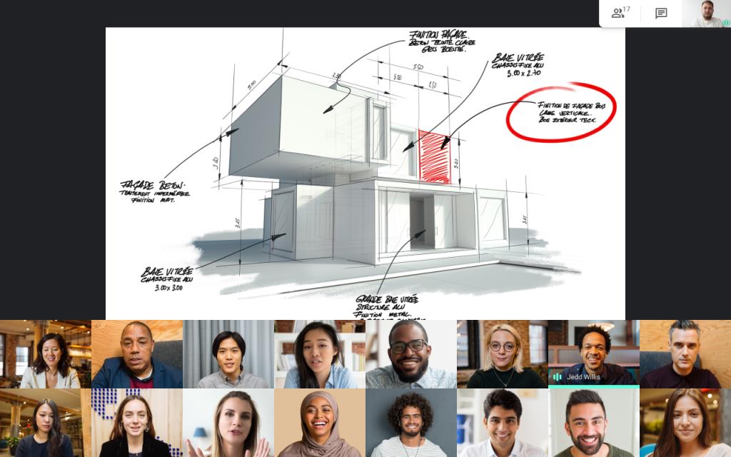 Google Meet migliora le presentazioni con una nuova visualizzazione 1