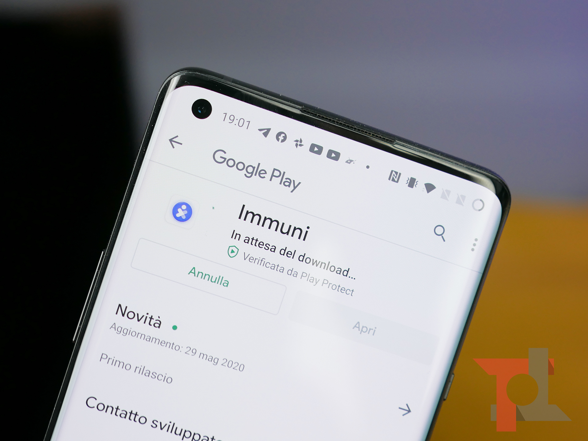 IMMUNI: da oggi pomeriggio è possibile scaricare l'App anti-contagio