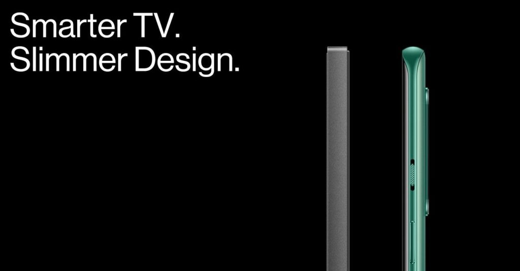 oneplus tv design