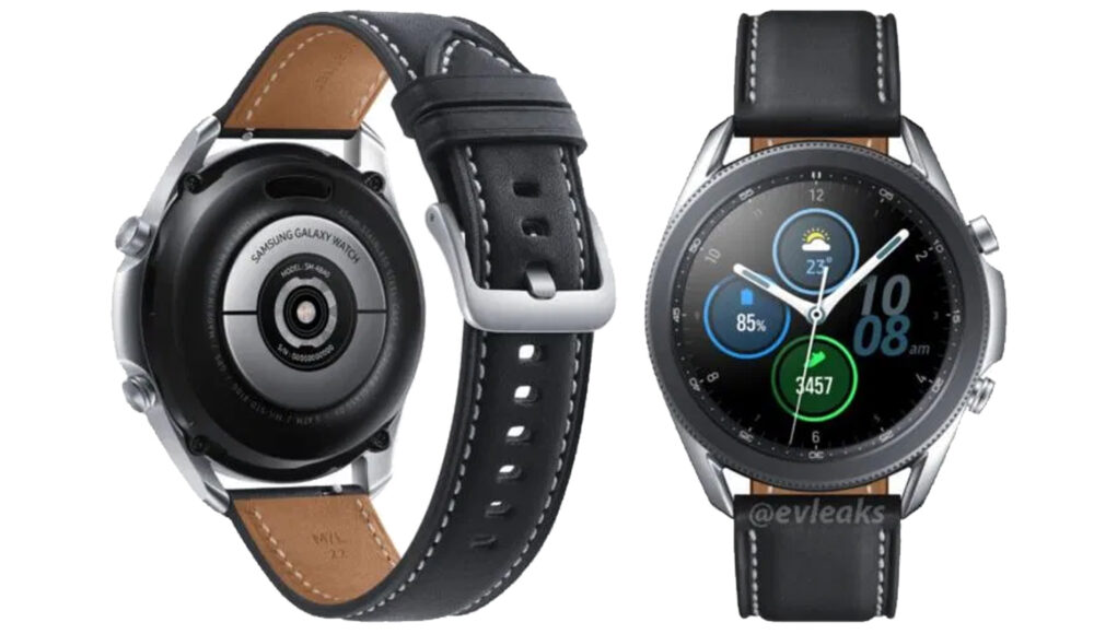 samsung galaxy watch 3 immagini stampa leak