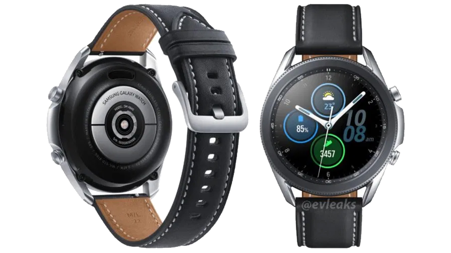 Le immagini stampa svelano Samsung Galaxy Watch 3 in tutta la sua gloria