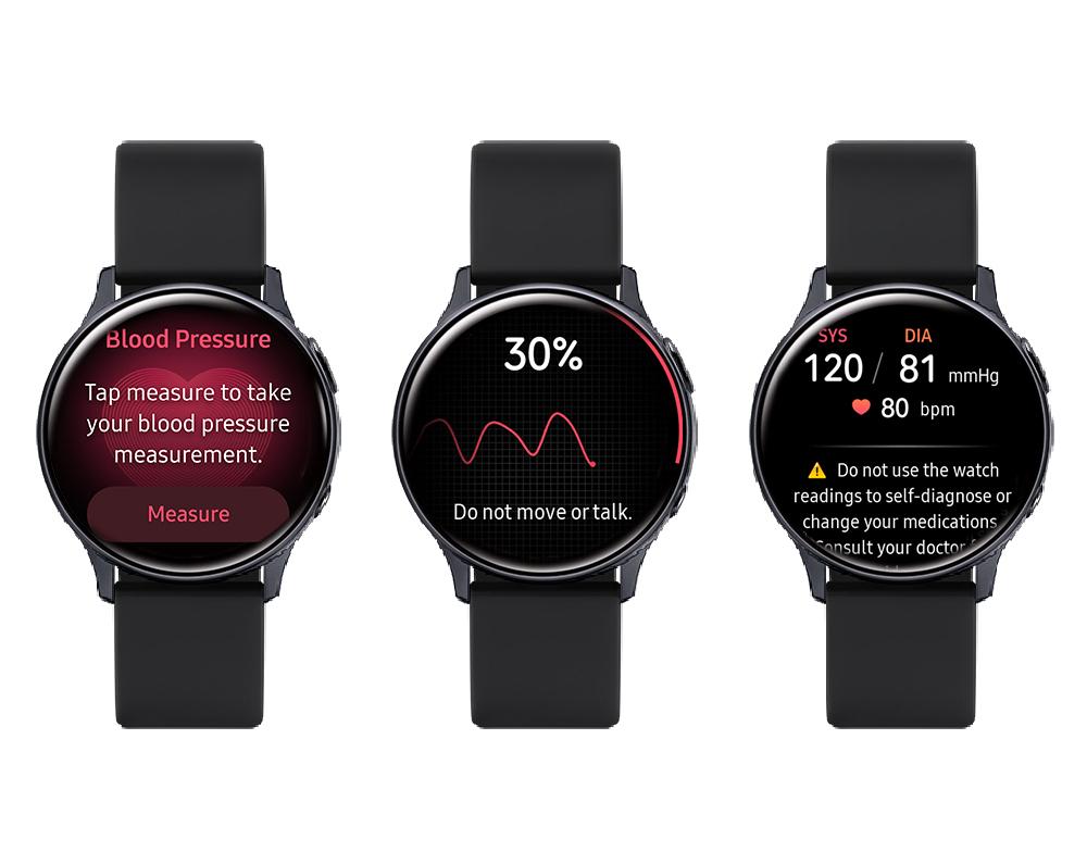 samsung galaxy watch active 2 health monitor pressione sanguigna