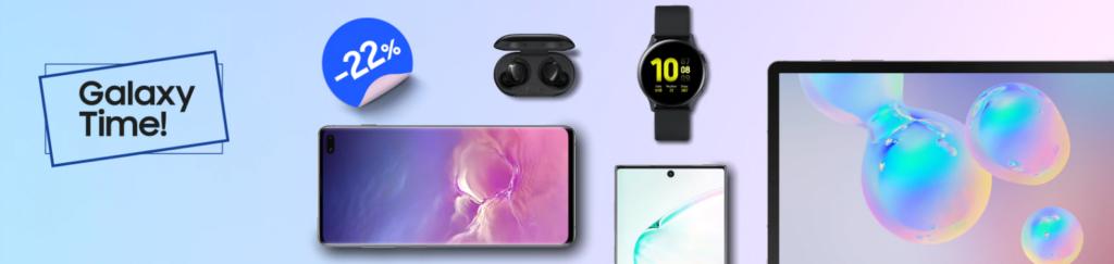 Samsung offerte It's Galaxy Time