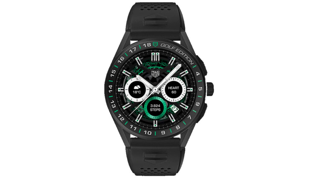tag heuer golf edition ufficiale specifiche prezzo