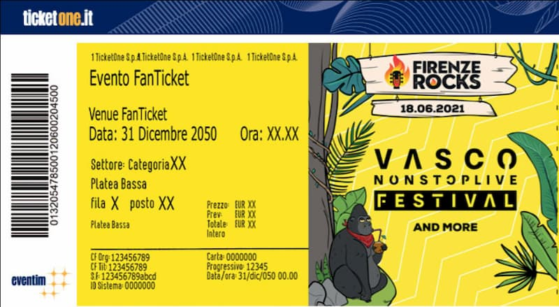 Biglietto TicketOne