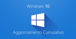 Bloccare aggiornamenti Windows cumulativo
