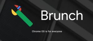 Brunch Chrome OS