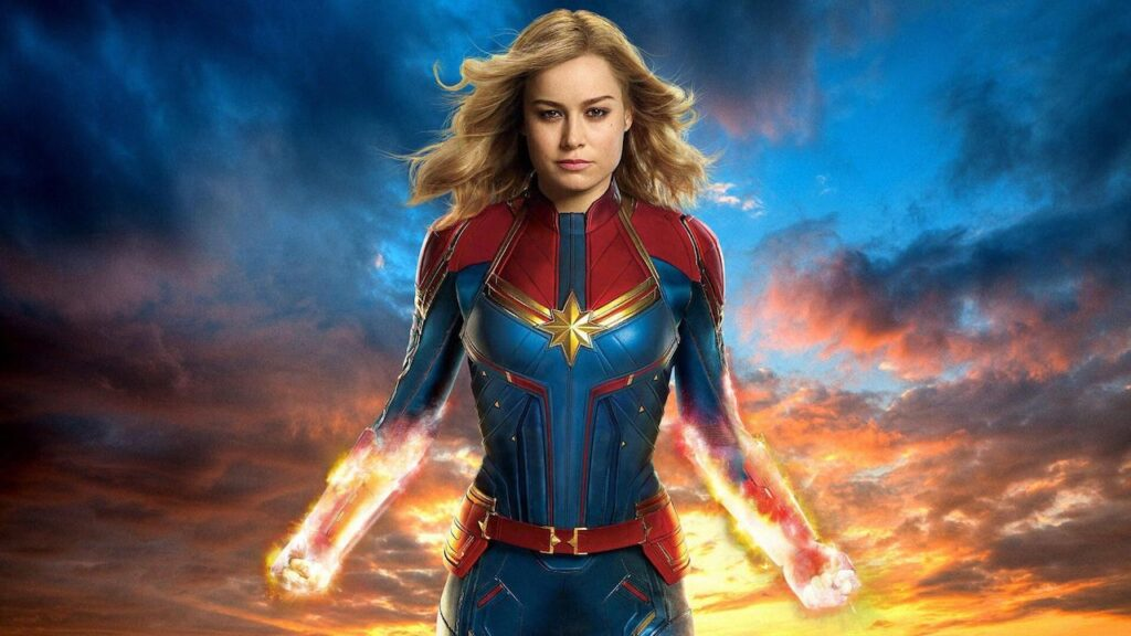 Captain Marvel - migliori film su Disney+