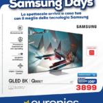offerte Euronics Samsung Days