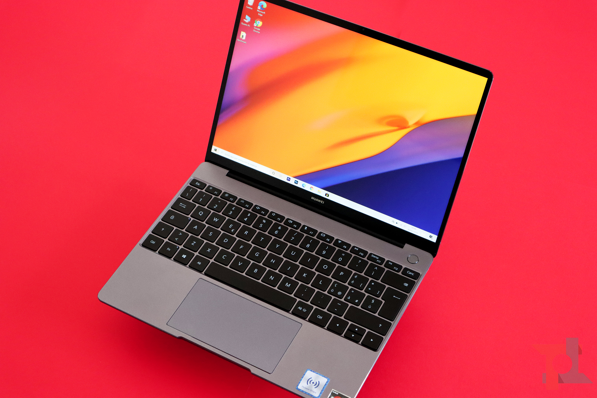 Huawei Matebook 13 2020 tastiera