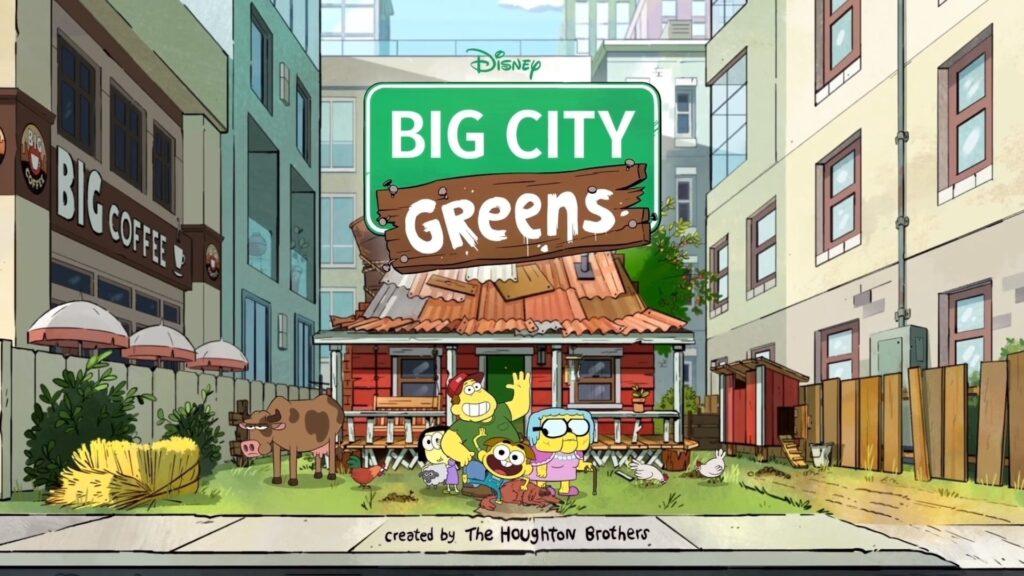 I Greens in città - novità Disney+ agosto 2020