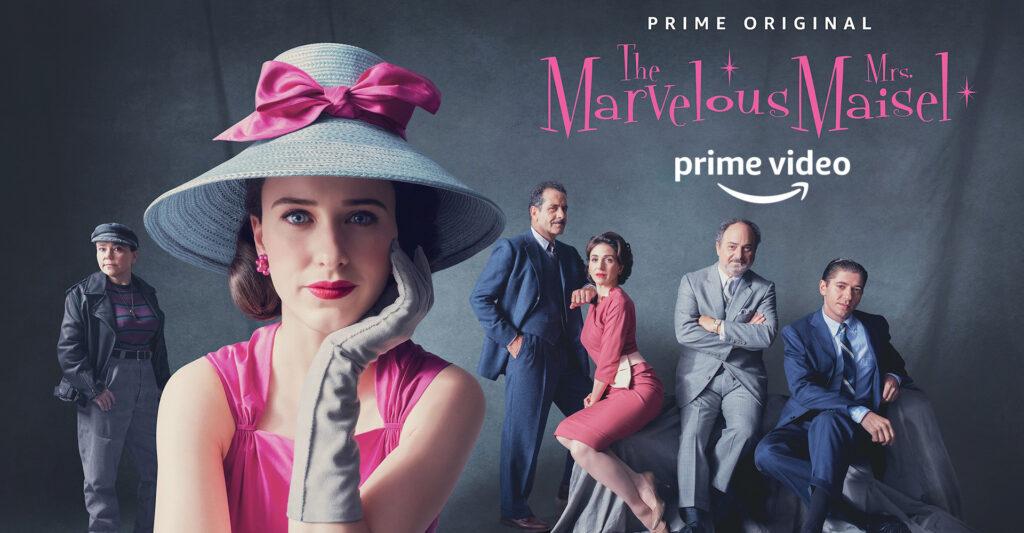 La fantastica signora Maisel - migliori originals Amazon Prime Video