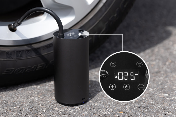 Xiaomi MOJIETU Lightning-A Smart & Portable Tire Inflator