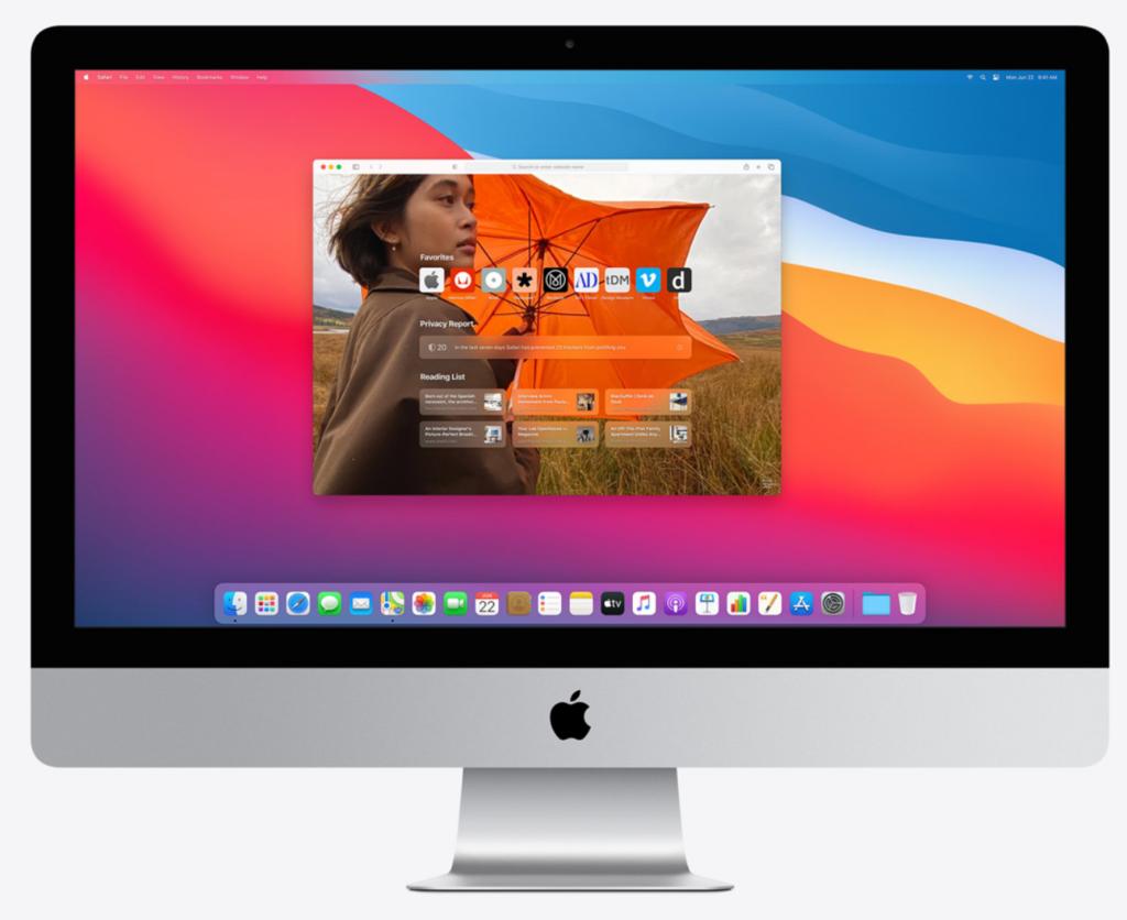 Safari macOS 11