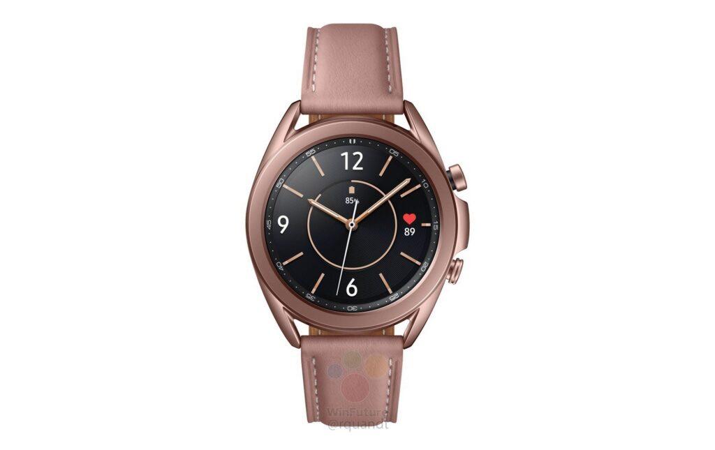 Samsung Galaxy Watch 3 come se fosse ufficiale: arrivano specifiche e render 2