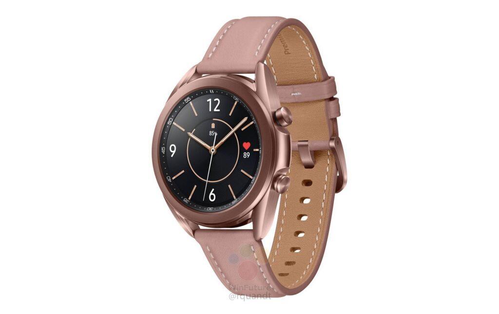 Samsung Galaxy Watch 3 come se fosse ufficiale: arrivano specifiche e render 1
