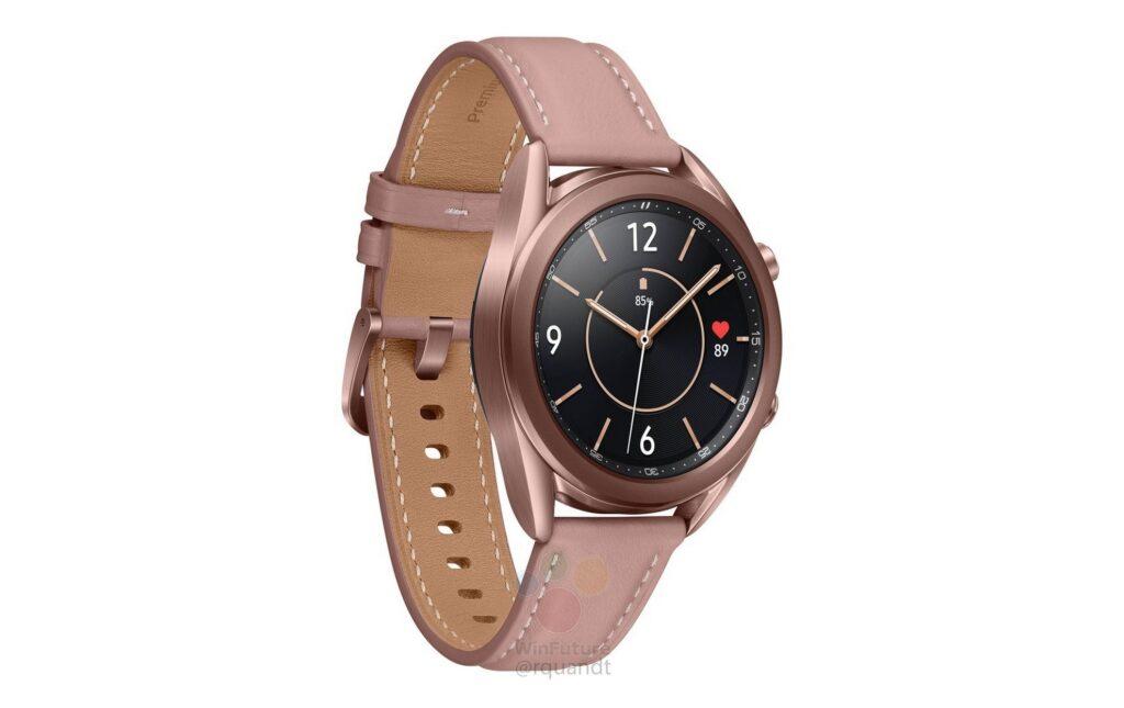 Samsung Galaxy Watch 3 come se fosse ufficiale: arrivano specifiche e render 8