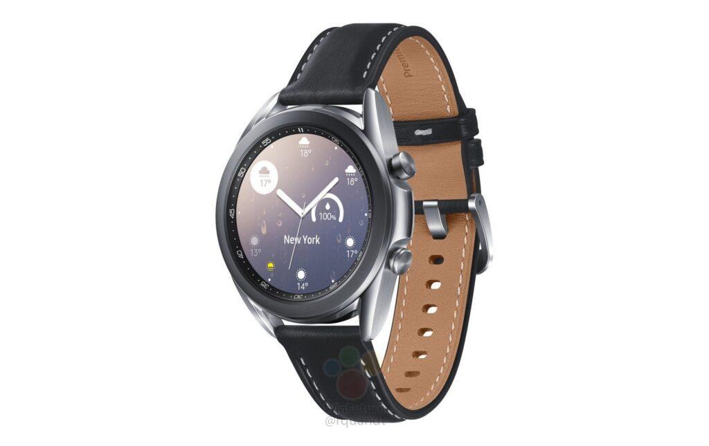 Samsung Galaxy Watch 3 come se fosse ufficiale: arrivano specifiche e render 5