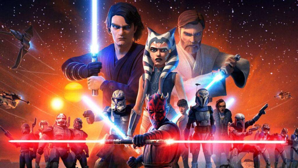 Star Wars Clone Wars - migliori serie TV su Disney+