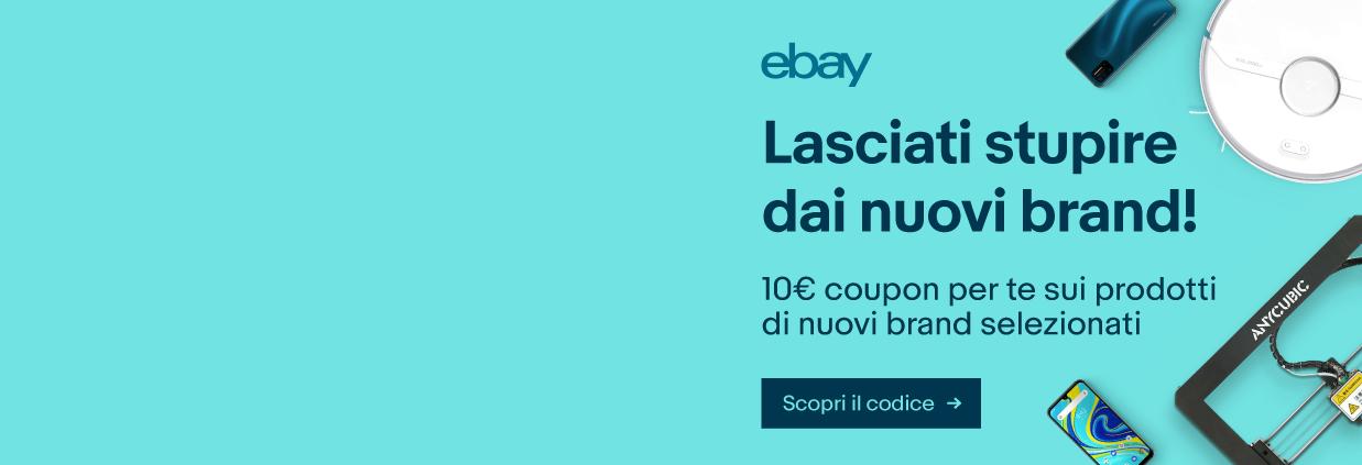 Ecco gli Imperdibili della settimana di eBay con tre interessanti iniziative 1