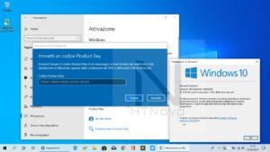 Attivare WIndows 10 codice prodotto product key