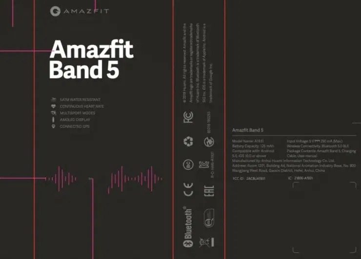 "Amazfit Band 5 è pronta a lanciare la sfida ""interna"" a Xiaomi Mi Band 5 1"