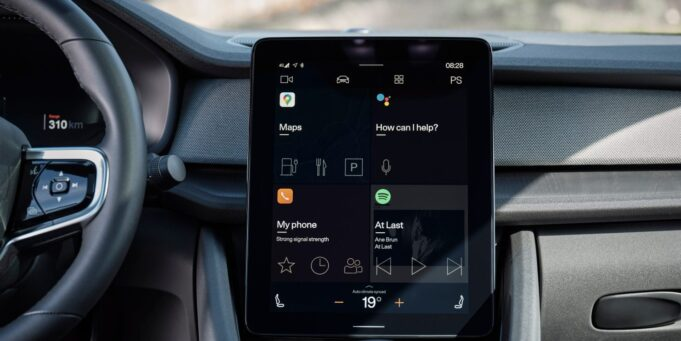 Polestar 2 Android Automotive