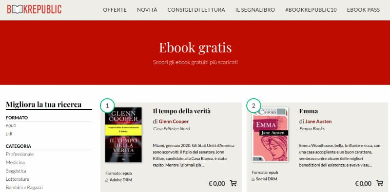 Scaricare eBook gratis da Bookrepublic