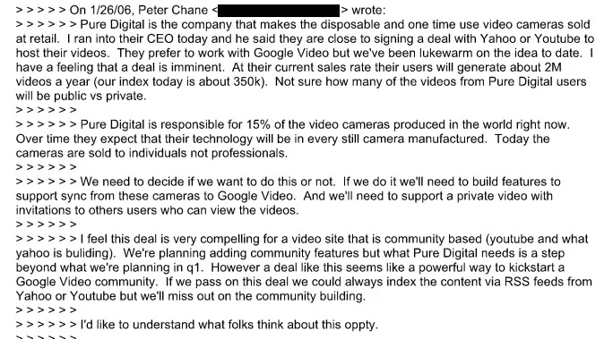google flip video documenti antitrust