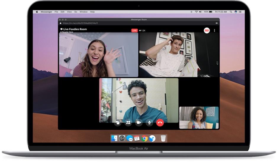 Facebook porta Rooms in diretta e migliora la privacy di Messenger 2