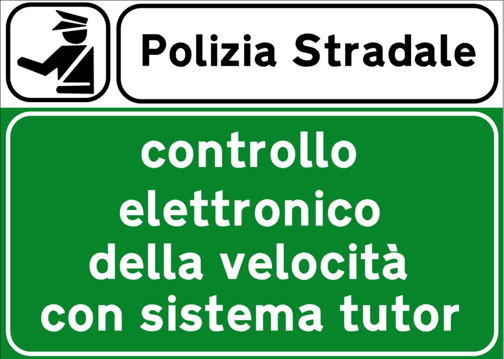 segnaletica tutor autostradale