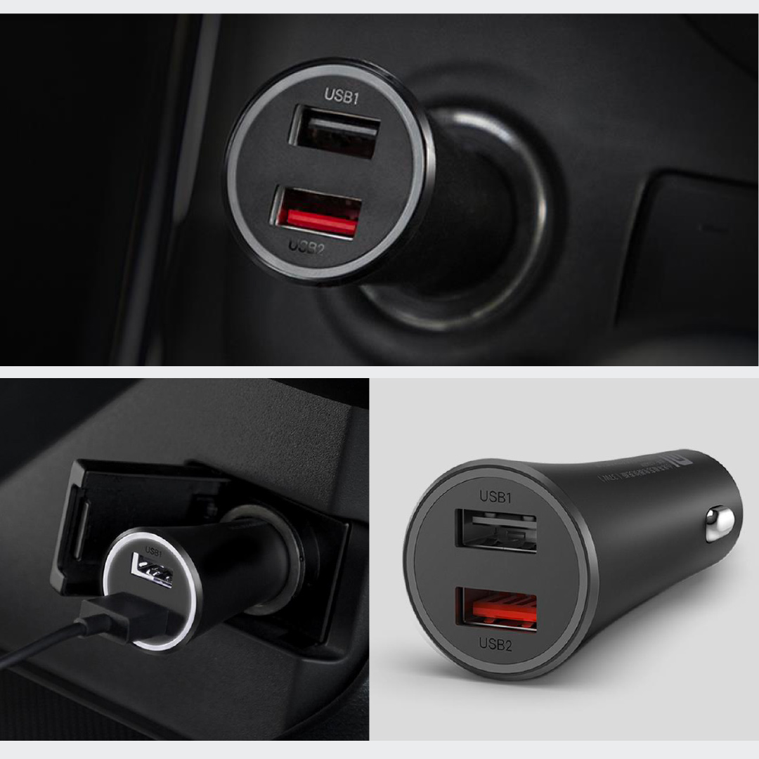 Xiaomi Mi 37W Dual-Port Car Charger