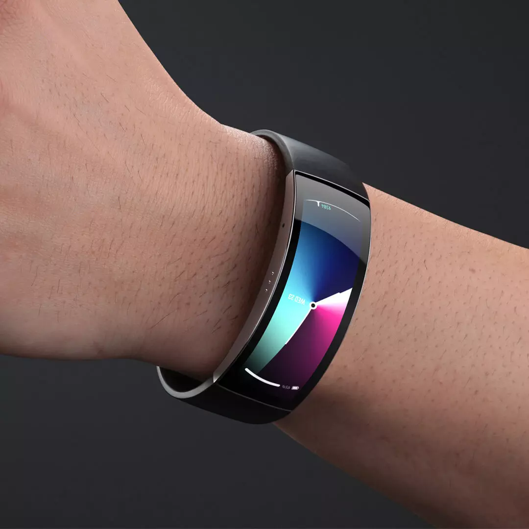 Amazfit X Curved Smartwatch