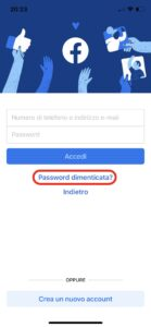 Come recuperare la password di Facebook se dimenticata o persa 2